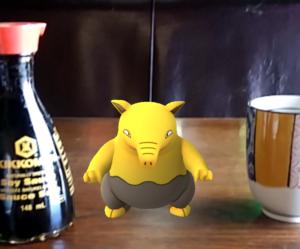 Pokemon Go and sushi