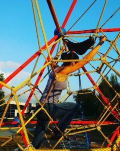 Being active: Playground fun